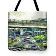 City Traffic Tote Bag