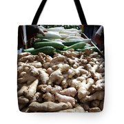 City Vegetable Stand Tote Bag