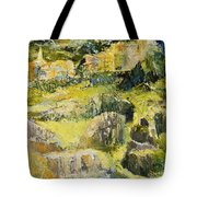 City View From The Sea Tote Bag