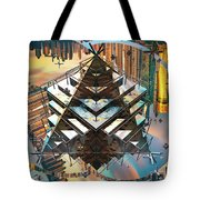 Cityline Abstract IIi Tote Bag