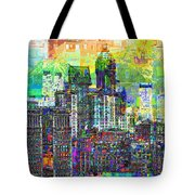 Cityscape Art City Optimist Tote Bag