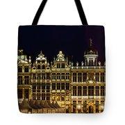 Cityscape In Brussels Europe - Landmark Of Brussels, Belgium Tote Bag