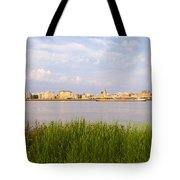 Cityscape Of Antwerp Tote Bag