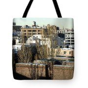 Cityscape Queens Tote Bag
