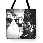 Civil War At The Lincoln Cottage Tote Bag