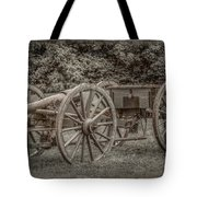 Civil War Cannon And Limber Tote Bag