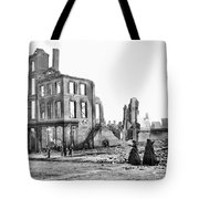 Civil War: Fall Of Richmond Tote Bag