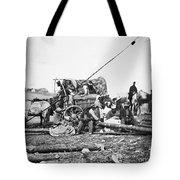 Civil War: Former Slaves Tote Bag