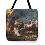 Civil War: Fort Sumter 1861 Tote Bag