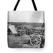 Civil War: Fortifications Tote Bag