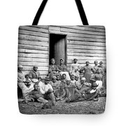 Civil War: Freed Slaves Tote Bag