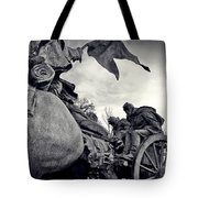 Civil War In Bronze Tote Bag