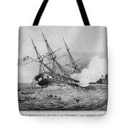 Civil War: Merrimac (1862) Tote Bag