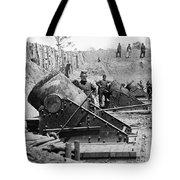 Civil War: Union Mortars Tote Bag