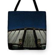 Claerwen Reservoir In Moonlight Tote Bag