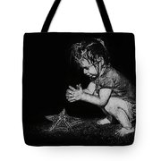 Claire On Beach Tote Bag