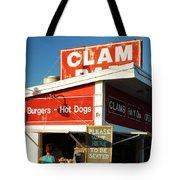 Clam Bar, East Hampton Tote Bag