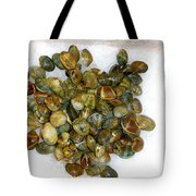 Clams In The Fish Market Tote Bag