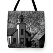 Clapboard Church 1898 Tote Bag