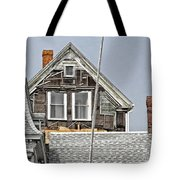 Clapboards And Tar Paper Tote Bag