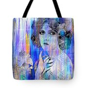 Clara Bow I'll See You In New York Tote Bag
