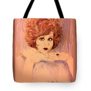 Clara, Redhead Tote Bag