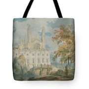 Clare Hall And Kings College Chapel, Cambridge  Tote Bag