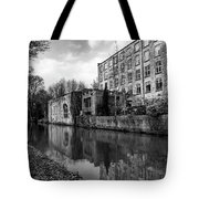 Clarence Mill, Bollington, England Tote Bag
