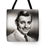 Clark Gable, Vintage Hollywood Actor By John Springfield Tote Bag