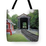 Clark's Bridge, Lincoln, N.h. Tote Bag