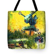 Clarksdale Authentic Madness Tote Bag
