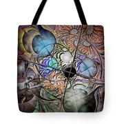Clash Of The Earthly Elements Tote Bag