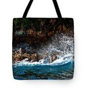 Clashing Nature Tote Bag