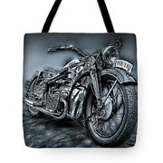 Classic Bike Tote Bag