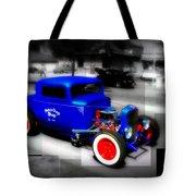 Classic Blue Tote Bag