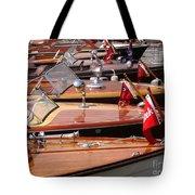 Classic Boats Tote Bag