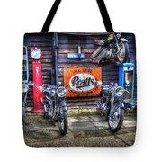 Classic British Bikes Tote Bag