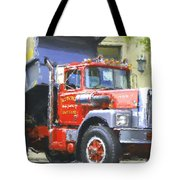 Classic Brockway Dump Truck Tote Bag