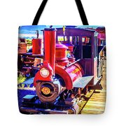 Classic Calico Train Tote Bag
