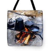 Classic Camp Cooking Tote Bag