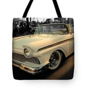Classic Car Cheve Tote Bag