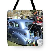 Classic Car Decorations Day Dead  Tote Bag