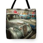 Classic Car Memorabilia Tote Bag