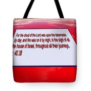 Classic Car With Text Tote Bag