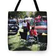 Classic Cars Day Of The Dead II Tote Bag