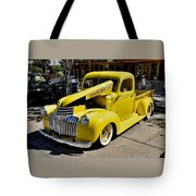 Classic Chevy Pickup Tote Bag