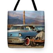 Classic Chevy True Blue Tote Bag