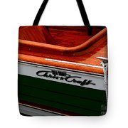 Classic Chris Craft Sea Skiff Tote Bag