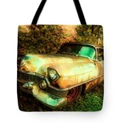 Classic Country Cadillac Painting  Tote Bag