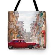 Classic Cuba Car Viii Tote Bag